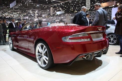 Aston Martin DBS Volante, surpriza decapotabila la Geneva | Volan.ro ...