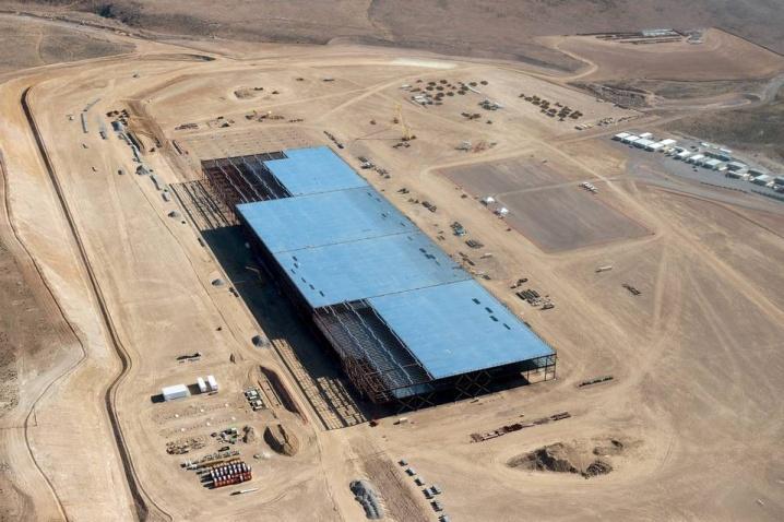 Fabrica Tesla sub construcție în Nevada, Reno