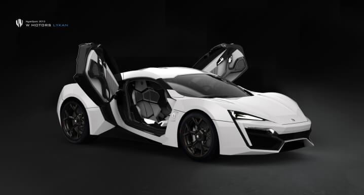 Lykan HyperSport 2013_White Edition OpenDoor