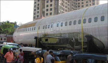 Boeing pe strada