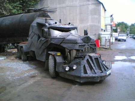 Camionul-tanc Dragon