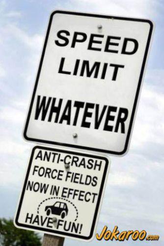 Fara limita de viteza
