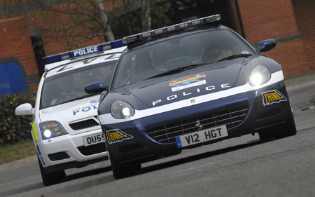 Ferrari Scaglietti 612 pentru politie