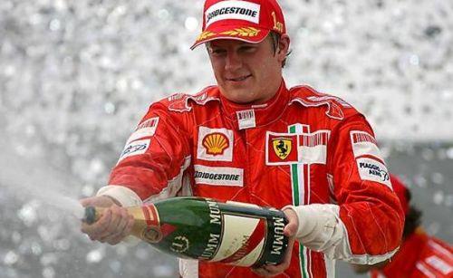 Kimi Raikkonen, campion mondial