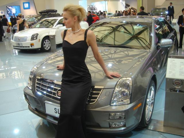 Blonda de la Autoshow Shanghai